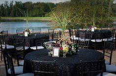 Black, Grey, Purple, Erich Fuss Photography, A&F Garden Gate Florist, Event Source