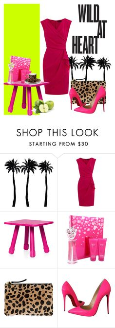 """Wild at Heart"" by anahcamilo on Polyvore featuring Dot & Bo, Coast, Fatboy, XOXO, Clare V., Christian Louboutin and Asprey"