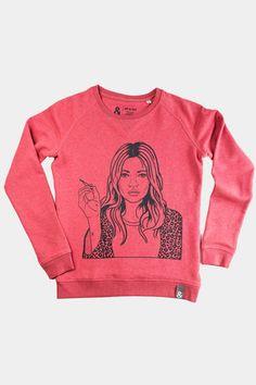 Neck Collar, Boss Lady, Sweaters For Women, Circular Economy, Graphic Sweatshirt, Unisex, Sweatshirts, Spun Cotton, Sleeves