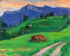 Bergwiese 1910 Gabriele Münter