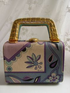 Vintage Original Early1960s Emilio Pucci by WhiteElephantGirl, $228.00