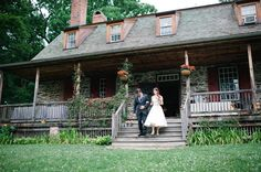 Outdoor ceremony out Mount Gulian in upstate New York's Hudson Valley.