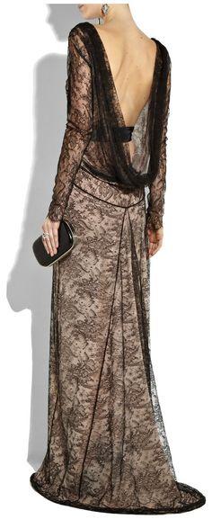 antonio-berardi-blush-velvet-trimmed-lace-gown