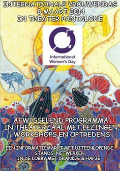 Vanaf nu kaartjes te koop bij Pantalone voor Internationale Vrouwendag op 8 maart! | Vrouwen & IJsselstein