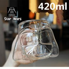 New Creative Star Wars Stormtrooper Mugs Glass Double Wall Crystal Shot Glass Cups Whiskey Cup Wine Glass Mug Bar Drinkware #Affiliate