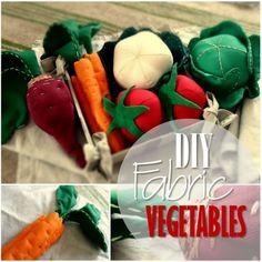 Blog miniatur - DIY Fabric Warzywa