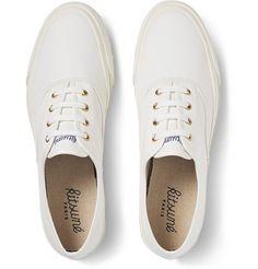 Maison Kitsuné - Cotton-Canvas Sneakers - €150