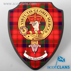 Clan Robertson Printed Wall Plaque. Free worldwide shipping available