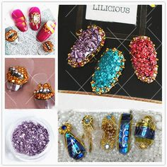 $3.69 1 Box Mixed Dried Flowers Nail Art DIY Preserved Flower With Heart-Shaped Box Glass Bottle Decor - BornPrettyStore.com