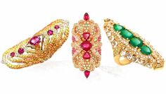wendy yue jewelry | Wendy Yue • Kaleidoscope Armor Collection rings • Fantasy in ...