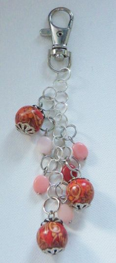 Handmade Key Chain via Hippychick Creations. Click on the image to see more!