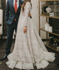 Nikkah Dress, Lace Dress, Nice Dresses, Awesome Dresses, Saree Look, Bridal Outfits, Dress To Impress, Woman Clothing, Engagement