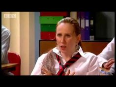Round two, Catherine Tate as Lauren - French exam - BBC comedy