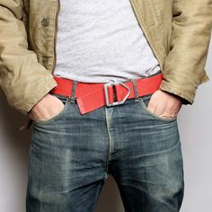 Best Made Company | Kevlar Smokejumper Belts | These are cool. Joey would love them.