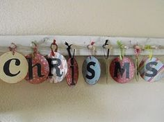 cd christmas banner - from a recovering craft hoarder blog