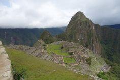 Machu Picchu, hieman eri kuvakulmasta kuin edellinen maisemakuva.