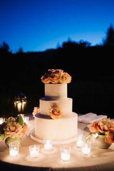 Wedding Cake. Photography: Sylvie Gil Photography   sylviegilphotography.com Catering: Paula LeDuc Fine Catering   http://paulaleduc.com Cake: Perfect Endings   perfectendings.com   View more: http://stylemepretty.com/vault/gallery/39075