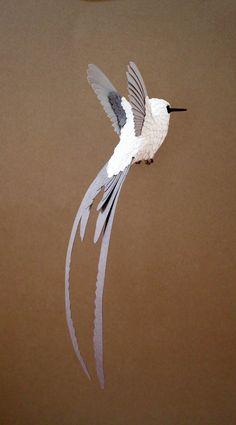 Les oiseaux en papier de Zack Mclaughlin | Ufunk.net