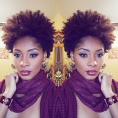 With the best articles on caring for natural hair, Curly Nikki is your source for inspiration and advice. Find out about the latest styles and trends today! Pelo Natural, Natural Hair Tips, Natural Hair Styles, Natural Beauty, Going Natural, Super Natural, Curly Hair Care, Curly Hair Styles, Divas