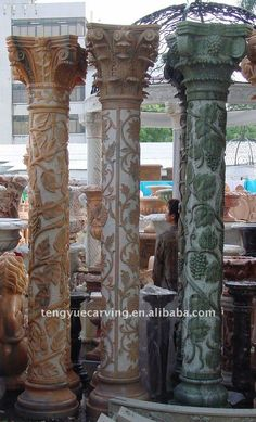 Decorative Concrete Column Molds For Sale And Molds For