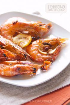 Teglia di gamberi al forno con peperoncini dolci (sweet peppers prawns) ©lennesimoblog