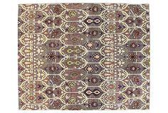 BASHIAN | 8x10 Manali Rug, Lilac/Ivory/Multi | 7,800.00 retail
