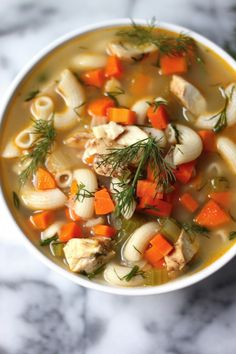 Favorite Chicken Noodle Soup Our Favorite Chicken Noodle Soup. Chicken noodle soup I made this tonight and it turned out great!Our Favorite Chicken Noodle Soup. Chicken noodle soup I made this tonight and it turned out great! Soup Recipes, Chicken Recipes, Dinner Recipes, Cooking Recipes, Healthy Recipes, Healthy Chicken, Best Chicken Noodle Soup, Chicken Soup, Dill Chicken