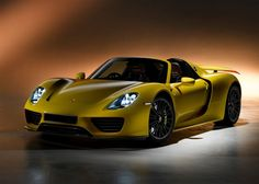 Hybrid electric cars for the rich - 2015 Porsche 918 Spyder – MSRP: $845,000.00