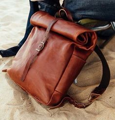 Nice leather bag design