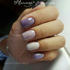 52 pretty nail art patterns decorated and simple pretty nail colors, pretty nails and spa, pretty nails woodley, pretty nail ideas, Ongles Gel Violet, Violet Nails, Purple Nails, Purple Sparkle, Pretty Nail Colors, Pretty Nail Art, Purple Colors, Hot Nails, Hair And Nails