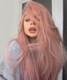 Pastel pink hair pastel hair 60 Fresh Spring Hair Colors For The REAL Fashionistas Hair Dye Colors, Cool Hair Color, Hair Color Pink, Nail Colors, Colours, Spring Hairstyles, Pretty Hairstyles, Hairstyle Ideas, Pastel Pink Hair