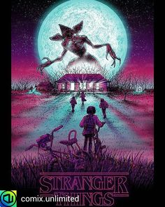 """Stranger Things. en Instagram: """"By @comix.unlimited - Just a Stranger Things appreciation post. #strangerthings ️"""""""