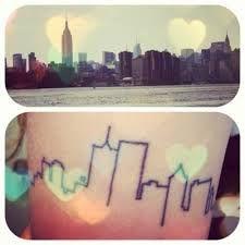 Resultado de imagem para tatuagem cidade