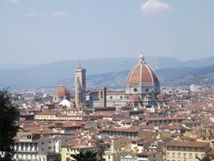 Vista da Piazzale Michelangelo - Florença