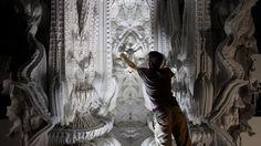 digital grotesque: full-scale 3D printed room realized - designboom | architecture & design magazine