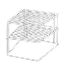 Corner Plate Stacker  sc 1 st  Pinterest & Buy Steel Cupboard Storage Solution Plate Racks at Argos.co.uk ...