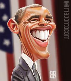 Barack Obama by mapontocom.deviantart.com on @DeviantArt