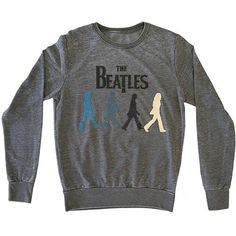 Beatles Men's Walking Sweatshirt Grey -- Awesome products selected by Anna Churchill