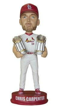 Chris Carpenter retirement bobble head night, August 15th 2014.