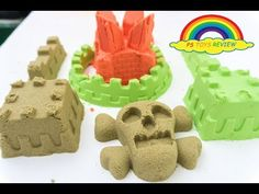 Build The Castle with Magic Clay Sand