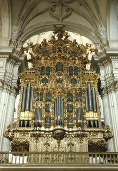 Granada, Andalucia, cathedral, organ, façade