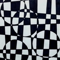 Great op art project..I've done this with the kids...they love it and so do I