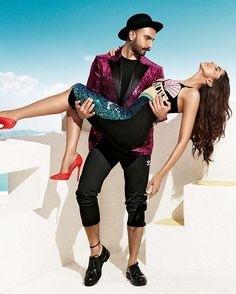 My fav picture from the #Vogue photoshoot... -  The way he's holding her and is looking at her is just indescribably beautiful...✨ @ranveersingh @deepikapadukone  #ranveersingh #deepikapadukone #deepveer #love #Vogue #india