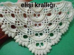 KABARTMALI VİRÜS ŞAL YAPIMI - YouTube Crochet Baby Poncho, Knitted Shawls, Crochet Shawl, Knit Crochet, Crochet Stitches Patterns, Baby Knitting Patterns, Stitch Patterns, Filet Crochet, Easy Crochet