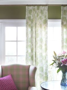 Another simple way to refresh a room for spring is to change up your window treatments-->http://hg.tv/y83c