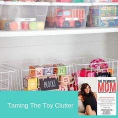 Is toy clutter driving you crazy? Do you have a handle on toy organization in your home or do you feel like the toys are taking over your home? When your kids are small and it can feel like toys are swarming your house! All those dolls, cars, puzzles, games and don't even think about the number of stuffed animals you have in every nook and cranny. It is enough to make any mom feel like she is going to lose her mind. But wait! It doesn't have to feel like this! Nook And Cranny, Toy Organization, Busy Life, Car Painting, Losing Her, Plastic Laundry Basket, Clutter, Motivation, Mom