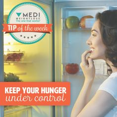 Straight from our Dietitian... Make sure you don't starve yourself all day just so you can go out to a restaurant for dinner. Having the starving feeling increases your food desire and the temptation might be too great to stick to your plan. Continue to eat your small frequent meals throughout the day. #TheOneThatWorks #MediWeightloss #tipoftheweek #healthytip #weightloss