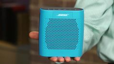 Bose Soundlink Color - Experience a full and lifelike sound from a lightweight, compact design portable speaker, and now it suits your style! #Best Portable Speaker
