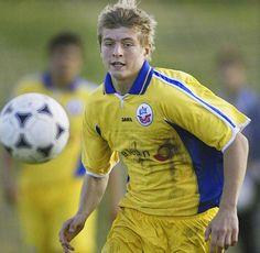 Toni Kroos   im Trikot des FC Hansa Rostock.