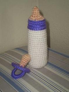 Free Crochet Pattern: Bottle & Pacifier